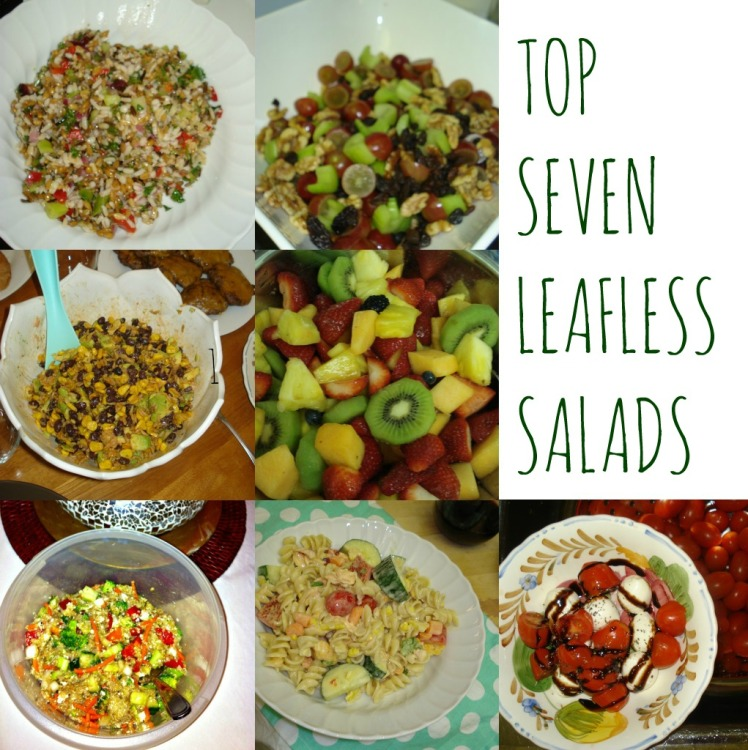 Top Seven Leafless Salads// 1924 London
