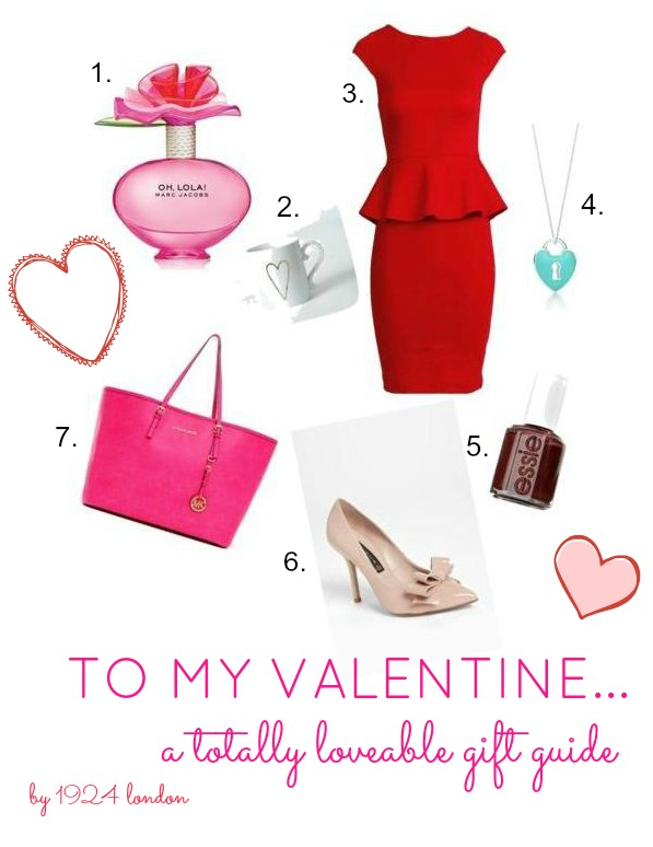 Valentines Day Gift Guide by 1924 London