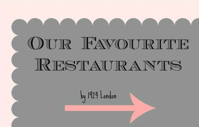 Nineteen Twenty Four London's Restaurant Guide by City
