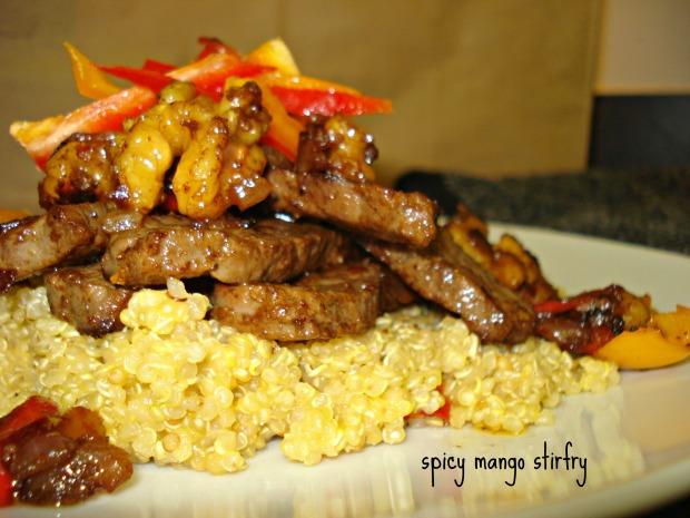 Spicy Mango Stirfry