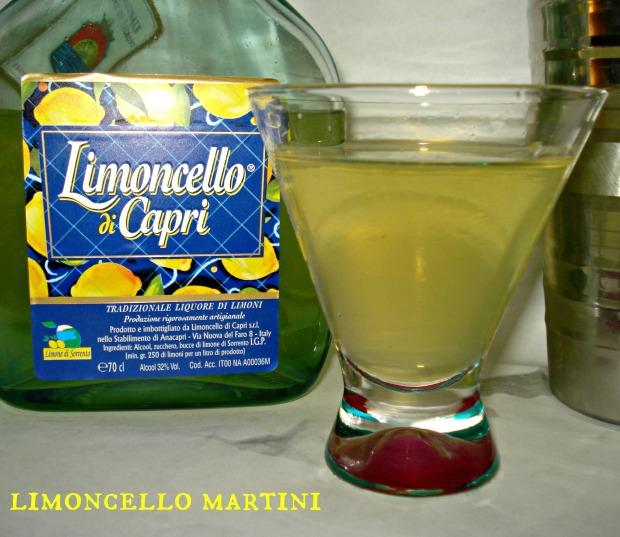 Limoncello Martini   1924 London