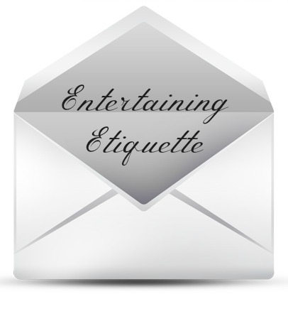 entertaining etiquette
