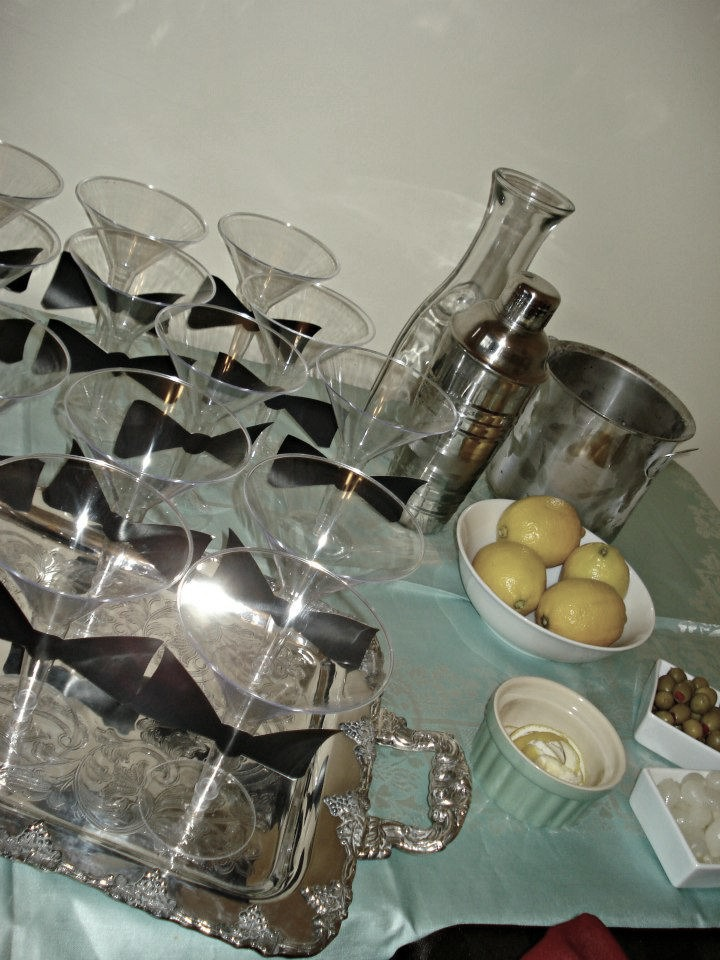 James Bond Birthday Party- Martini Bar | 1924 London
