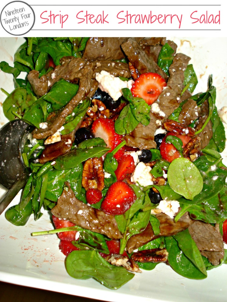 Strip Steak Strawberry Salad | 1924 London