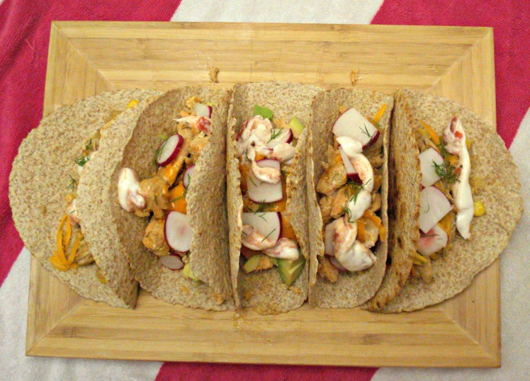 Tequila Lime Fish Tacos  | 1924 London