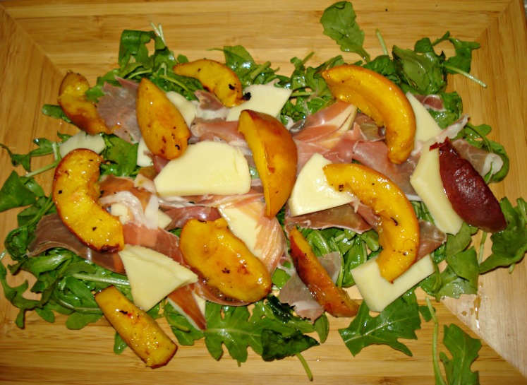 Grilled Peach and Prosciutto Salad  | 1924 London
