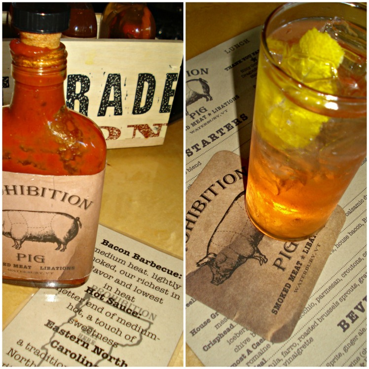 Homemade Bacon BBQ Sauce from Prohibition Pig Restaurant in Waterbury Vermont    1924 London
