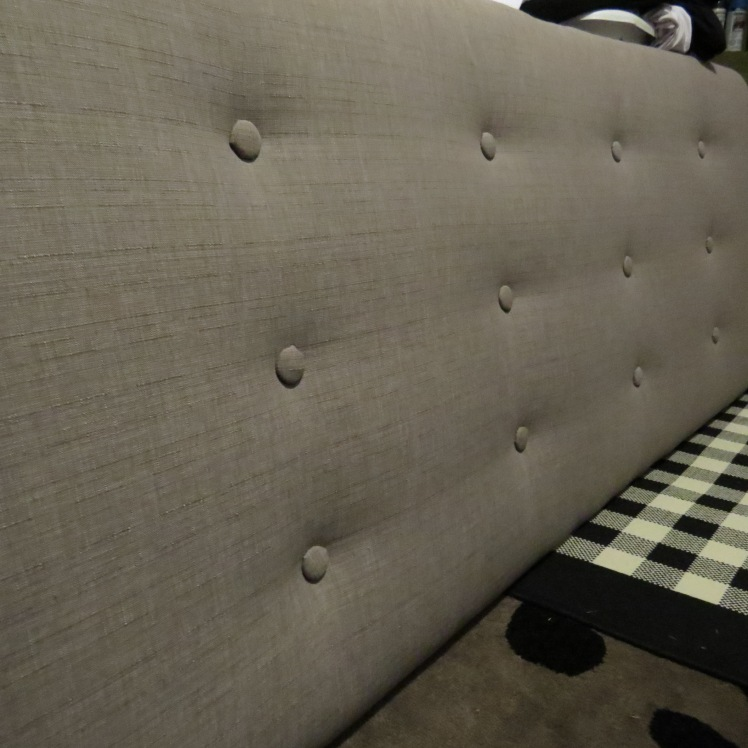 DIY Tufted Headboard  | 1924 London