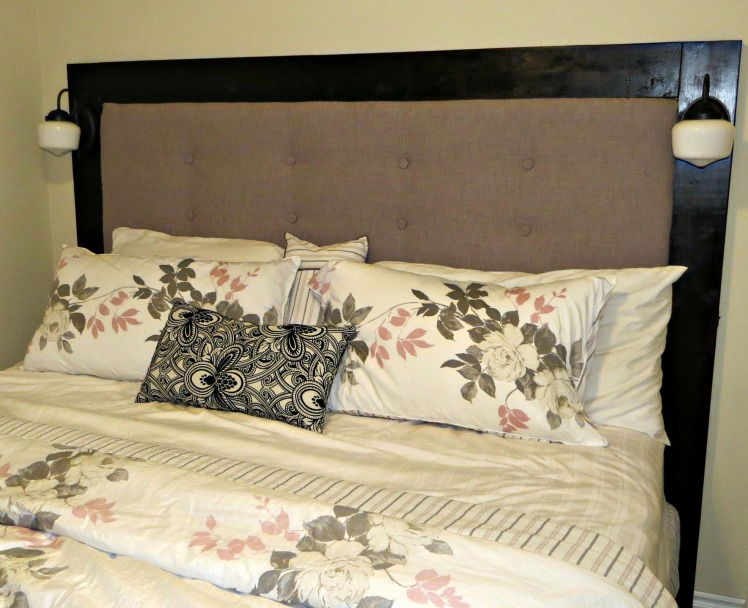 DIY Tufted Headboard with Frame  | 1924 London
