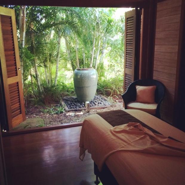 Outdoor massage at Kapalua Spa | Maui