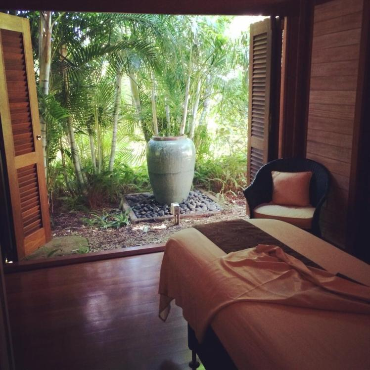 Outdoor massage at Kapalua Spa | Maui