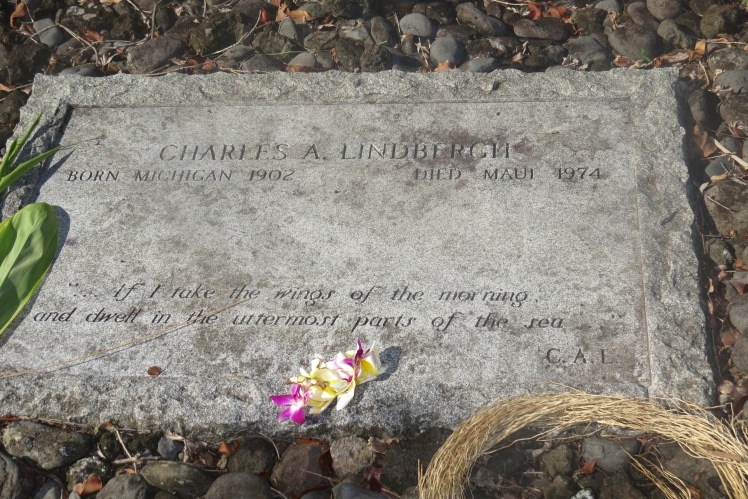 Charles Lindbergh's Grave  |  Maui