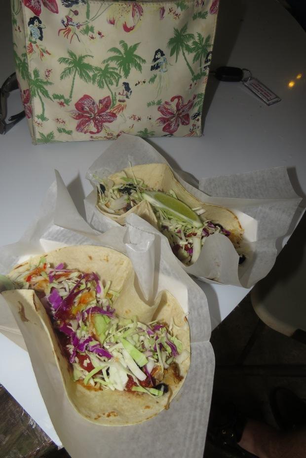 Fish Tacos on the road to Hana |  Maui