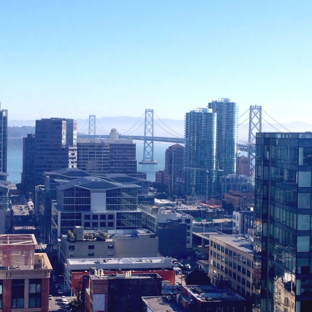 View from the room at the W San Francisco