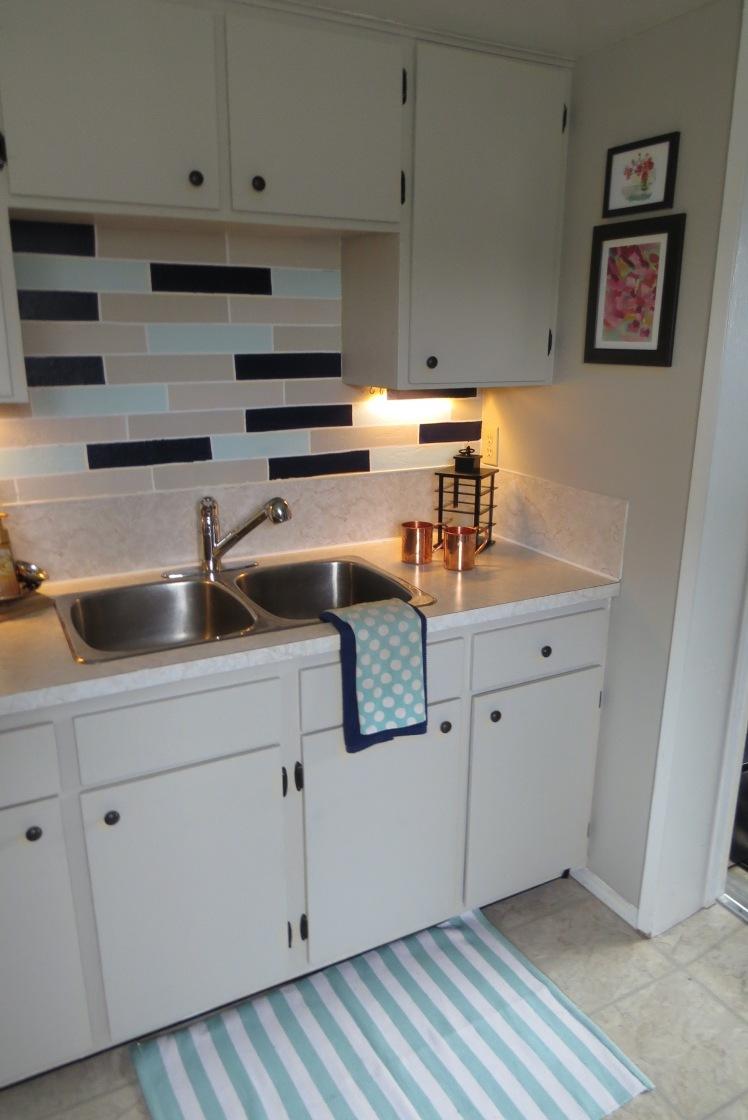 Freshened Up Rental Kitchen